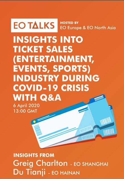 EO Industry Talks - Insights into Ticket Sales (Entertainment, Events) with Q&A